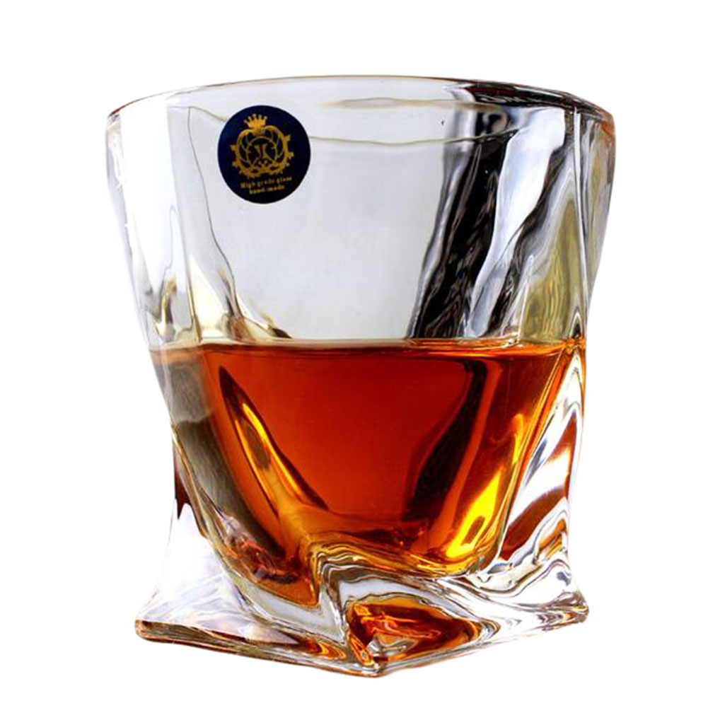 Unique design transparent whiskey glass wine cup drinking Unusual drinking glasses uk