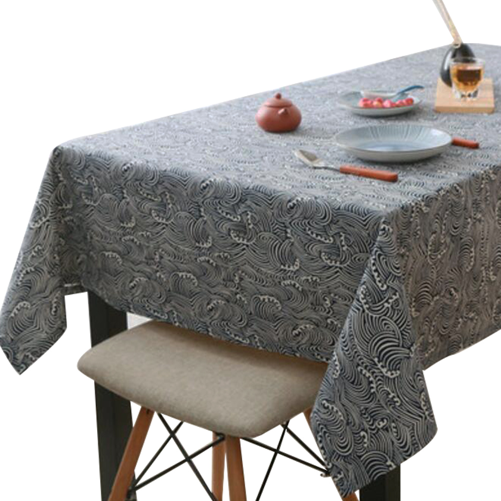 Japanese Style Tablecloth Cabinet Cover Cloth Coffee Table Cover 90 X 140 Cm A3 Ebay