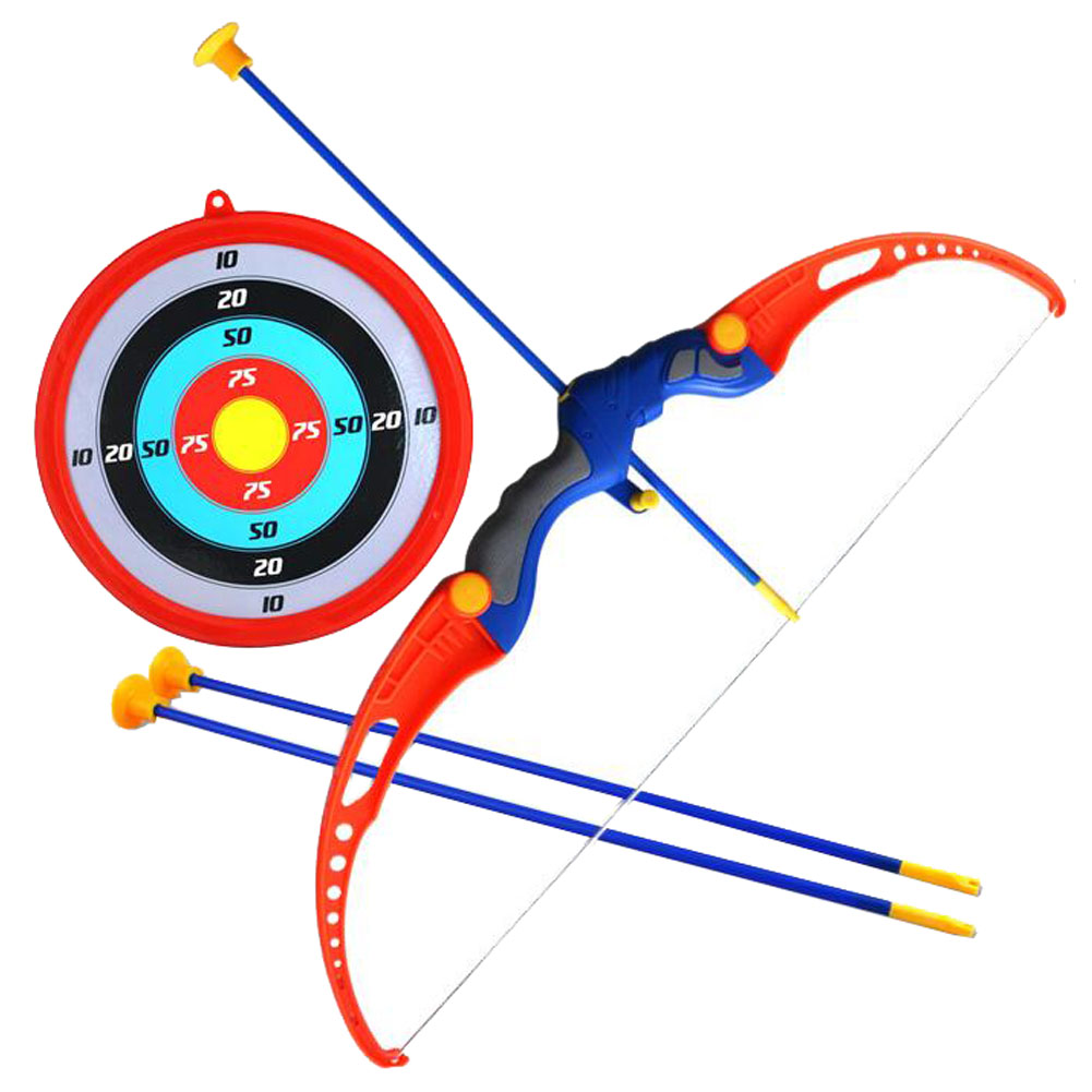 Toy Bow Amp Arrow Set With Suction Cup Arrows Amp Target